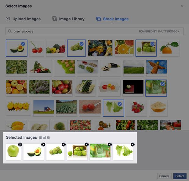 Facebook Update Shutterstock